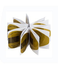 IRISK, Формы широкие золотые в пакете, 20 шт.