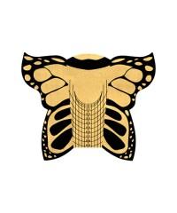 Формы металлизированные Бабочка, 100шт.