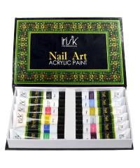 IRISK, Набор акриловых красок для 3D-эффектов и китайской росписи (12 цв.), 20 мл