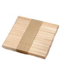 Шпатель деревянный узкий, 50 шт.
