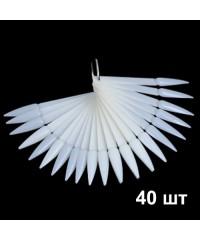 Палитра для дизайна на кольце СТИЛЕТ (40 шт) матовая