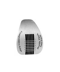 Одноразовые формы широкие серебро, 20 шт