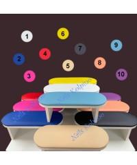 Маникюрная подставка для рук цветная