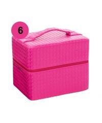 Саквояж профессиональный средний (24,5х18,5х19,5) (06 Розовый)