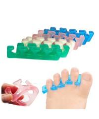Силиконовый разделитель пальцев ног, многоразовый 1 пара