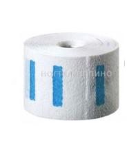 Воротнички бумажные на липучке 7 см х 40 см Professional в рулоне 100 шт.