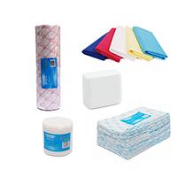 салфетки, полотенца, простыни
