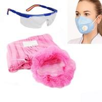 маски, очки, шапочки