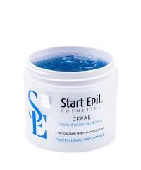 Start Epil, Скраб против вросших волос с экстрактами морских водорослей 300 гр.