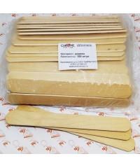 Шпатели для депиляции деревянные 14X1,7X0,16 (100 шт)