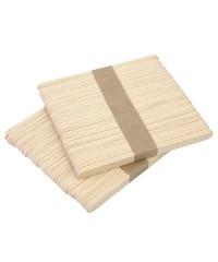 Шпатели для депиляции малые, деревянные 11,3*0,9*0,16 (100 шт)