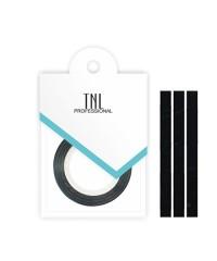 Нить на клеевой основе (черная) для дизайна ногтей, 3мм