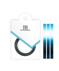 Нить на клеевой основе (голубая) для дизайна ногтей, 3мм