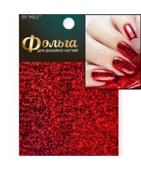 Фольга для дизайна ногтей голография (красные точки) 01