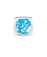 Ромбы 3D голубой топаз, 3804