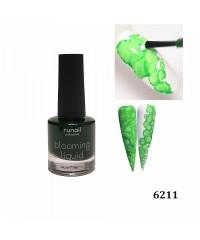 Краска для акварельной техники с шиммером зеленый неон 6211
