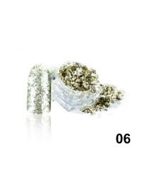 Алмазные хлопья для дизайна № 06