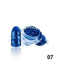Алмазные хлопья для дизайна № 07