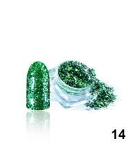 Алмазные хлопья для дизайна № 14