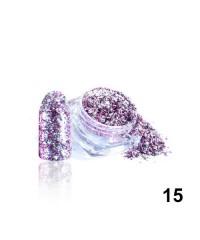 Алмазные хлопья для дизайна № 15