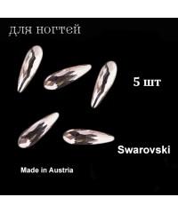 Стразы Swarovski, Австрия, многогранные, 10 мм. 5 шт. (PINK OPAL)