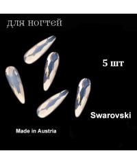 Стразы Swarovski, Австрия, многогранные, 10 мм. 5 шт. (LT.ROSE)