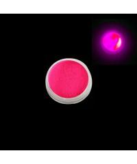 Пигмент светящийся, 3 гр (в баночке), розовый