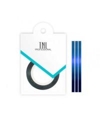 TNL, Нить на клеевой основе (голубая) для дизайна ногтей