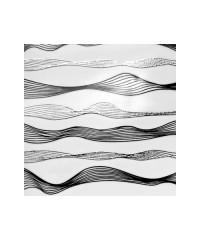 Лента-волна гибкая для дизайна 002