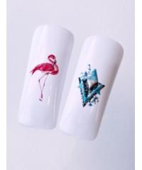 3D слайдер фламинго B138