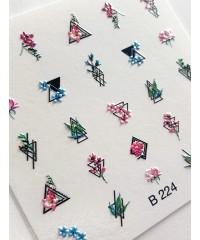 3D слайдер геометрия B224