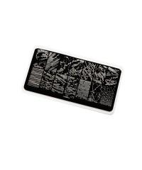 Пластина для стемпинга Premium мрамор (075)