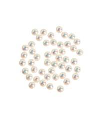 Жемчуг «Звездная пыль», 50 шт. Swarovski, золотой мелкий