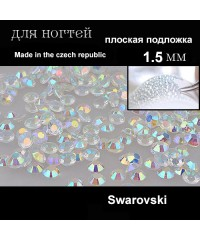 Стразы Swarovski кристальные в баночке SS4 (1.5-1.7 мм.), Чехия