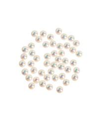 Жемчуг «Звездная пыль», 50 шт. Swarovski, белый ультра-мелкий, 1,5 мм