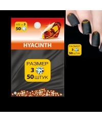 MILV, Стразы для дизайна SS3 (стекло 1.3-1.5 мм.) HYACINTH 50шт