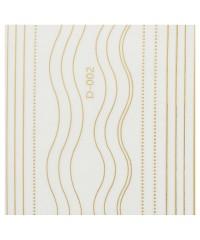 Ленты гибкие микс для дизайна золото D-004