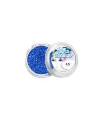 Блёстки для дизайна ногтей (синие), 045