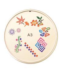 Резиновый диск для стемпинга №A3