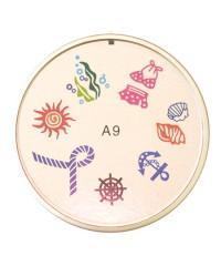 Резиновый диск для стемпинга №A9