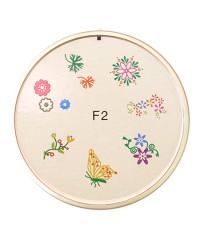 Резиновый диск для стемпинга №F2