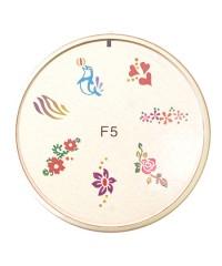 Резиновый диск для стемпинга №F5