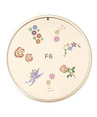 Резиновый диск для стемпинга №F6