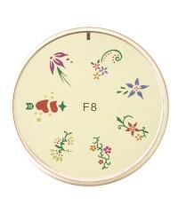 Резиновый диск для стемпинга №F8