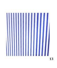 Лента гибкая для дизайна синяя 013