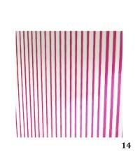 Лента гибкая для дизайна розовая 014