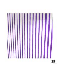 Лента гибкая для дизайна фиолетовая 015