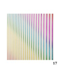 Лента гибкая для дизайна разноцветная 017