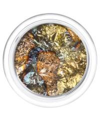 Фольга отрывная Сусальное золото в пластиковой баночке 02