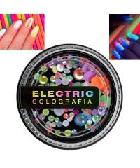 Стразы неоновые голографические Swarovski Electric Golografia MIX